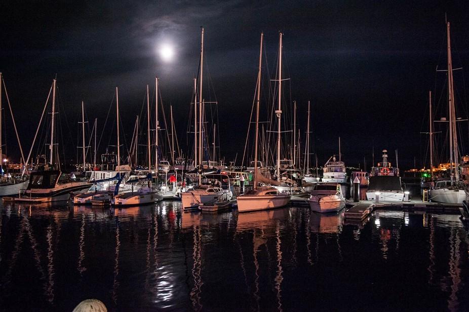 A quiet night in Hobart