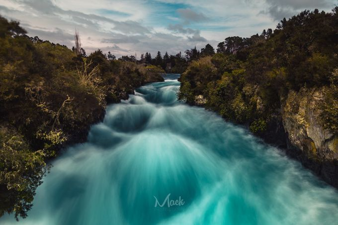 Huka Falls (EXPLORED) by Mack_Photography - Compositions 101 Photo Contest vol3