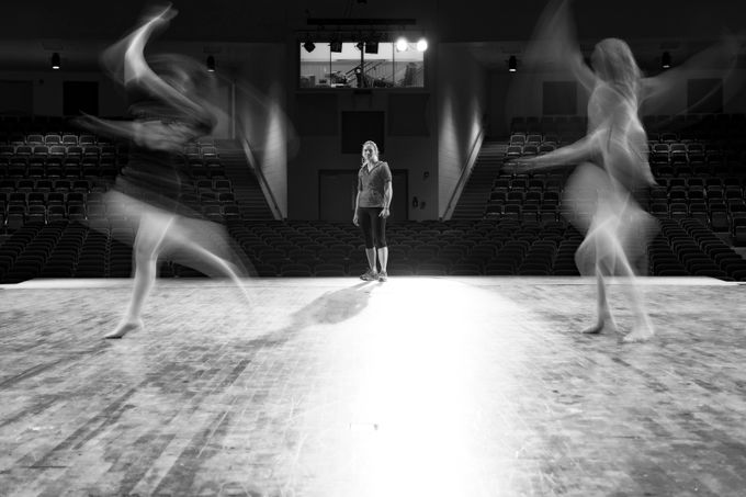 Dance Class by carawalton - Blurred Subjects Photo Contest