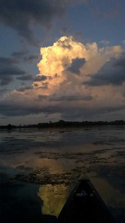 Clouds before Night