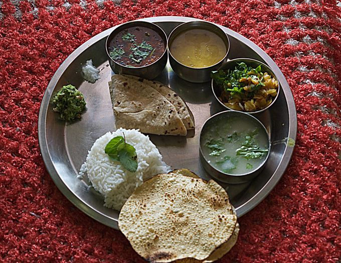 Indian Home Made  food