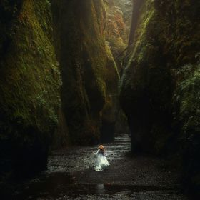 This was shot on a rainy day at Oneonta Gorge in Oregon. It was even more magical in person!   www.followmeaway.com