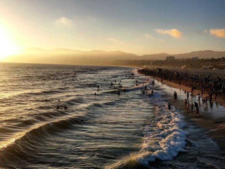 Santa Monica Pier Shot 2016