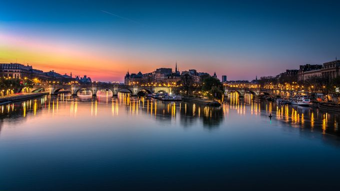Blue Hour on the Pont Neuf by FredericMONIN - Around the World Photo Contest By Discovery
