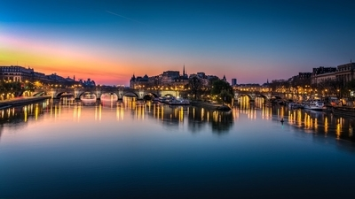 Blue Hour on the Pont Neuf