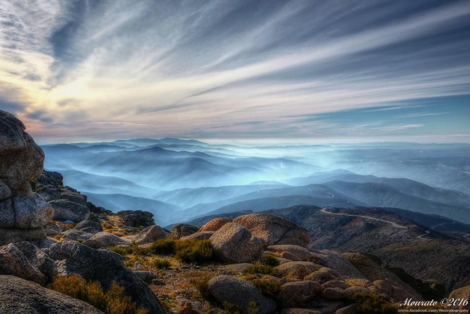 """Portuguese highlands from """"Penhas Douradas"""" - """"Serra da Estrela&qu..."""