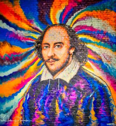 Shakespeare Street Art - London