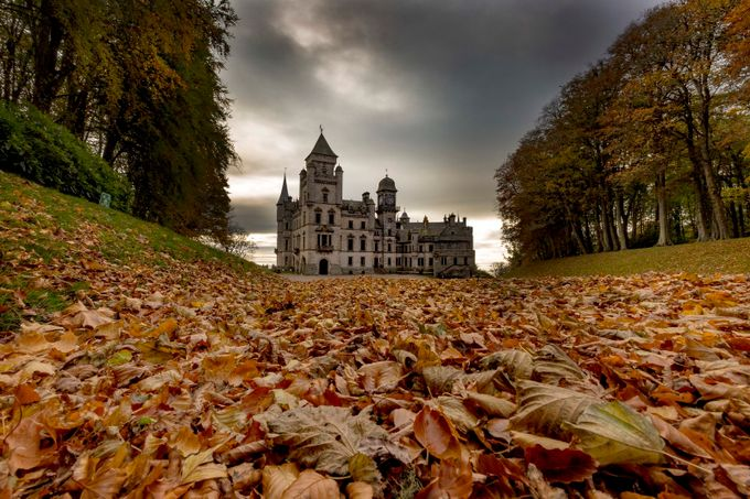 Dunrobin Castle by MarkGillespiePhotography - Enchanted Castles Photo Contest