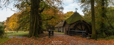 Panorama - Autumn At The Watermill