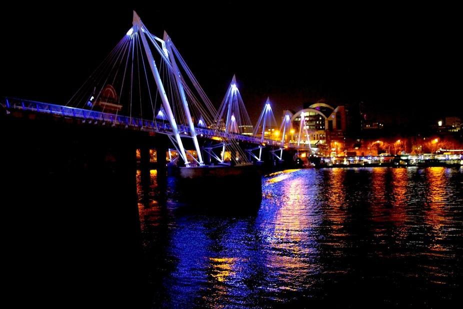 Hungerford Bridge, London