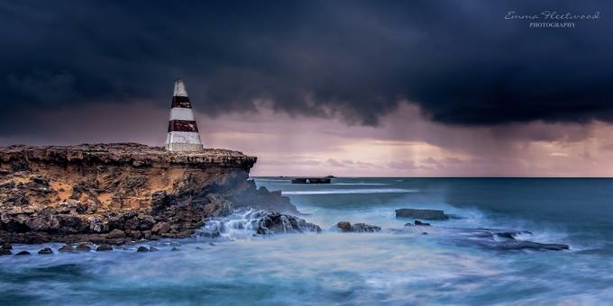 Winter Storm by emmafleetwood - Spectacular Cliffs Photo Contest