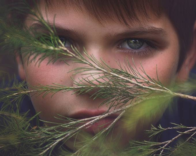 hidden by Child_Expressions - Green Eyes Photo Contest