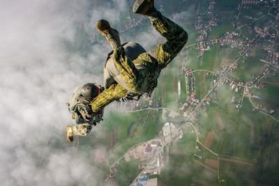 Military Skydive