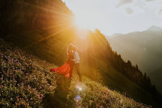 Love in the mountains by CelestineAerden - Romantic Photo Contest