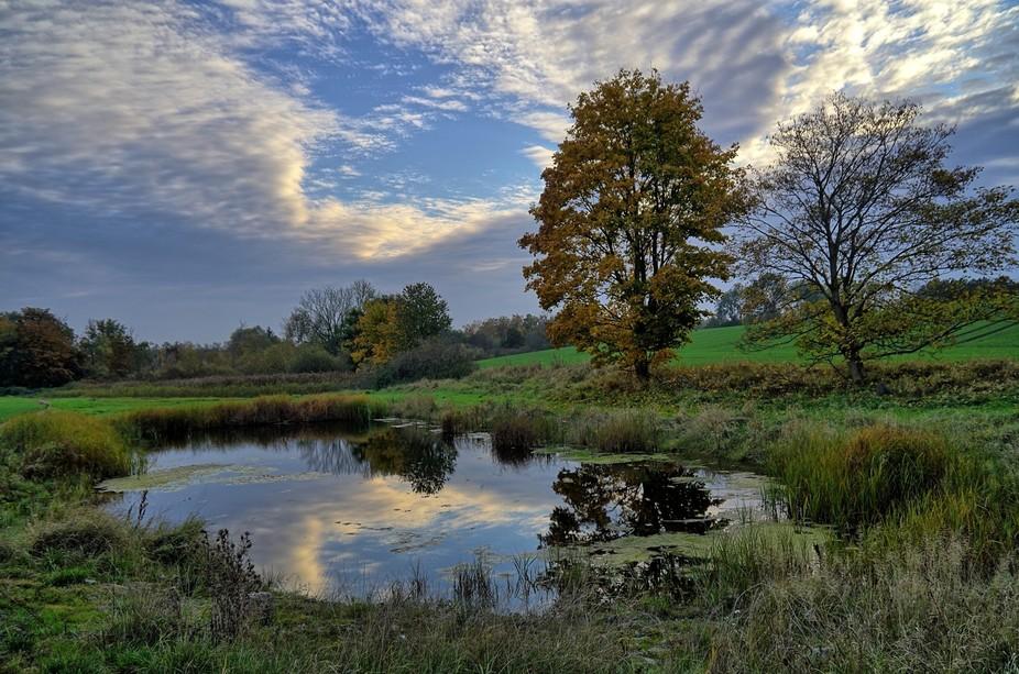 A small lake near Roskilde, Denmark.