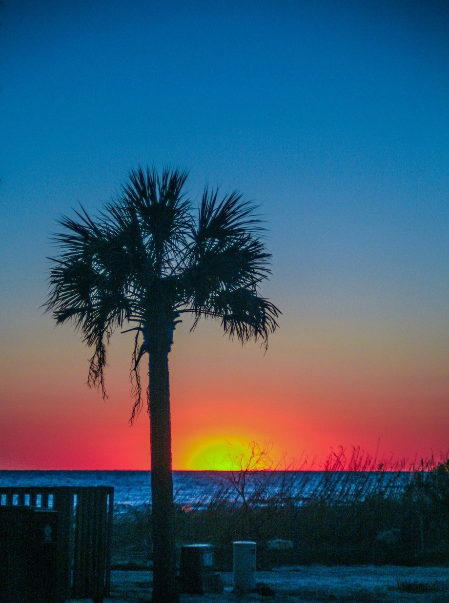 A capture of a beautiful North Carolina sunset on Oak Island. I was fortunate to have the camera ready!