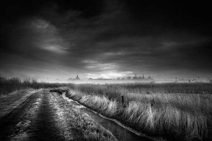 Skyline-Den-Bosch by RuudPeters - Black And White Landscapes Photo Contest