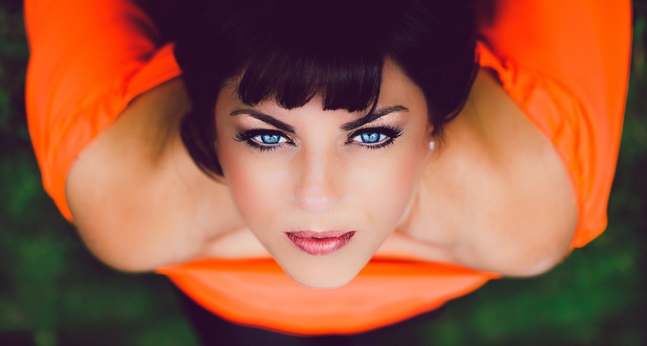 Curves combined with beautiful photographic angles, and eyes reflecting passion for life is all a...