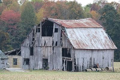 Abandoned Rotting Barn