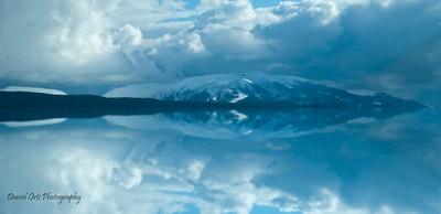 reflejo montaña