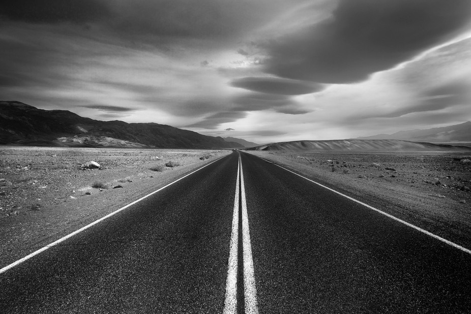 Death Valley Roadway