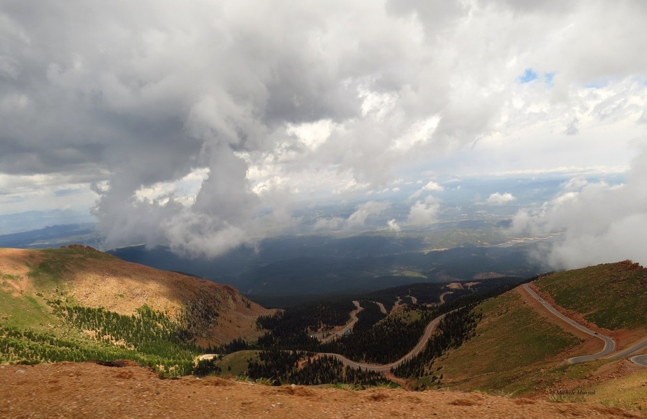 When you reach the summit of Pike's peak in Colorado, The sheer expanse of the view can ...