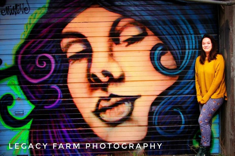 Beautiful graffiti in Kansas City's West Bottoms