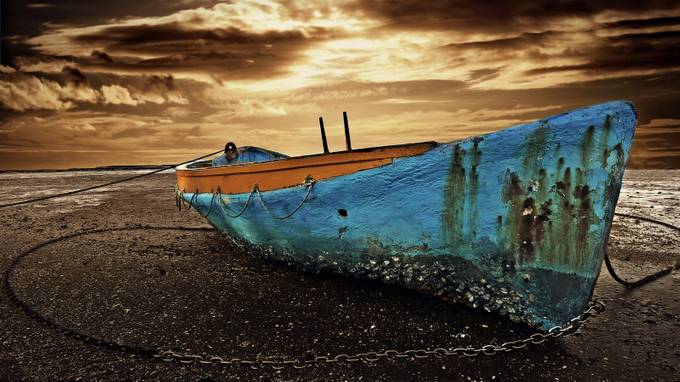 The Boat by jomyjose - Subjects On The Ground Photo Contest