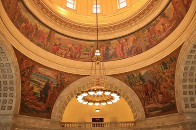 Utah State Capital interior