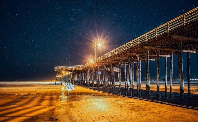 Astro Pier - Pismo Beach, California by cmwieber - The View Under The Pier Photo Contest