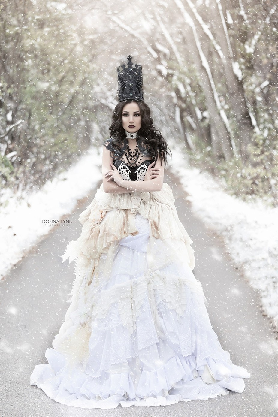 Winter Queen  by DonnaLynnPhotog - A Fantasy World Photo Contest
