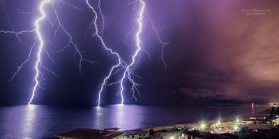Midnight summer storm