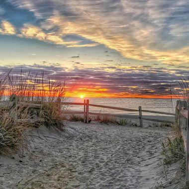 Morning sunrise on LBI