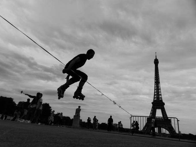 Flying jump by andreasulini - Paris Photo Contest