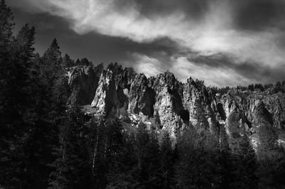 Sierra Mountain Wall
