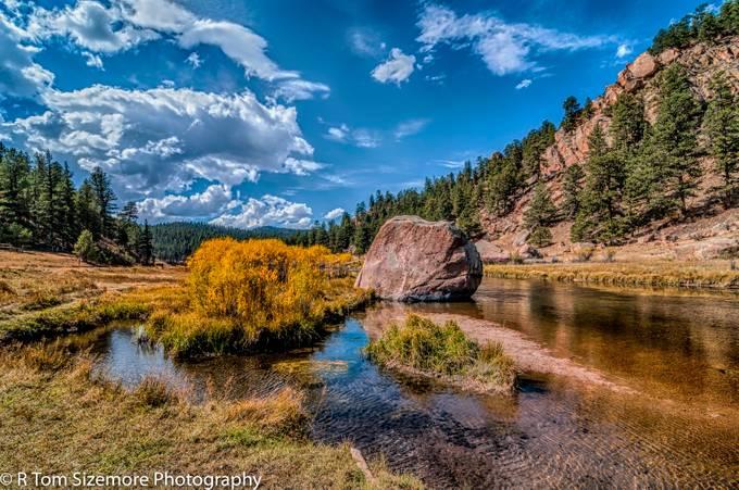 Fall along a Colorado River #1