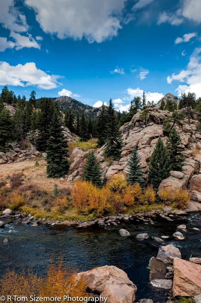 Fall along a Colorado River #2