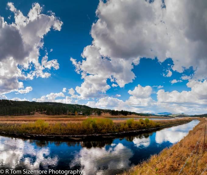 Fall along a Colorado River #4