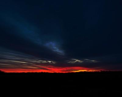 Sunrise Landscape.