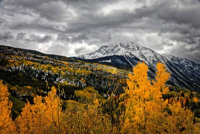 Mountains in Fall Color