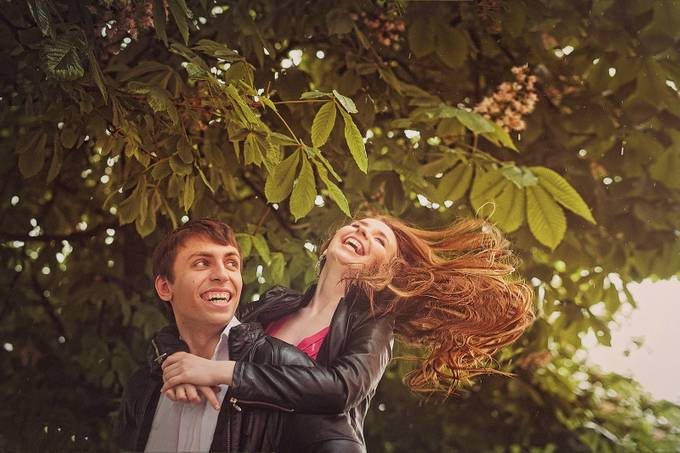 Be happy! by LisaAnfisa - Romantic Photo Contest