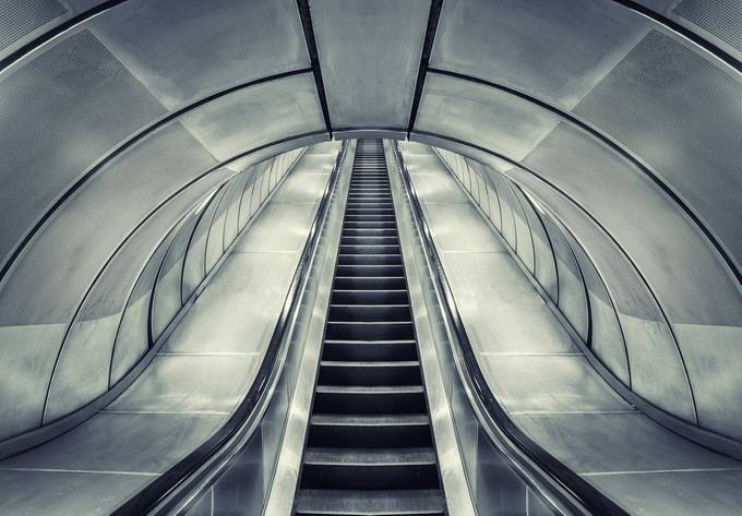 Going Up 2 by karlredshaw - Metro Stations Photo Contest