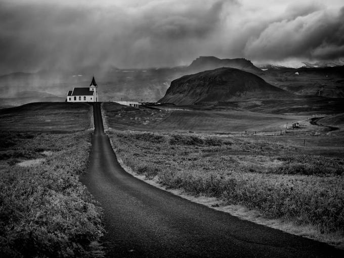 Icelandic Church by vitoservideo - Country Roads Photo Contest