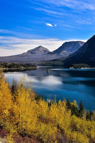 Lake McDonald - Canvas Like Single Shot