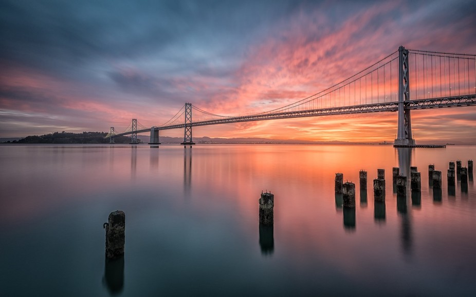 Bay Bridge Sunrise!