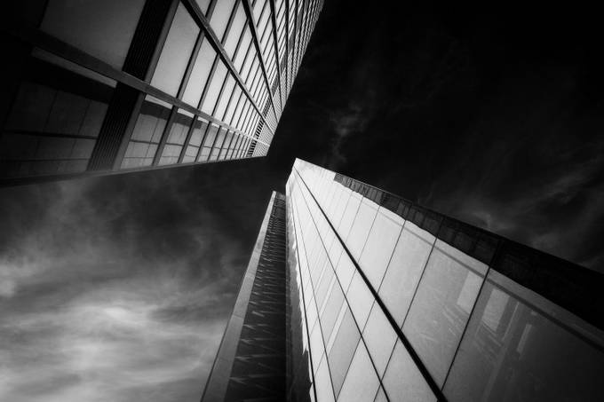 Drama Towers by karlredshaw - Black And White Architecture Photo Contest