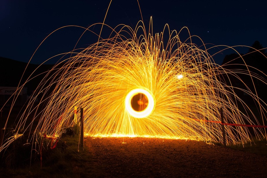 had a go at steel wool bunring