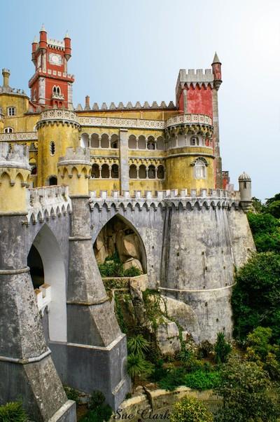Pena Palace near Sintra, Portugal