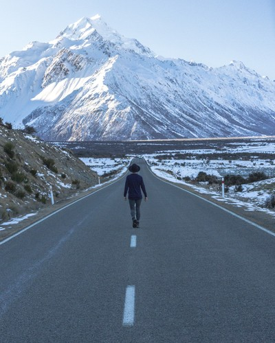 Wandering into Mt Cook