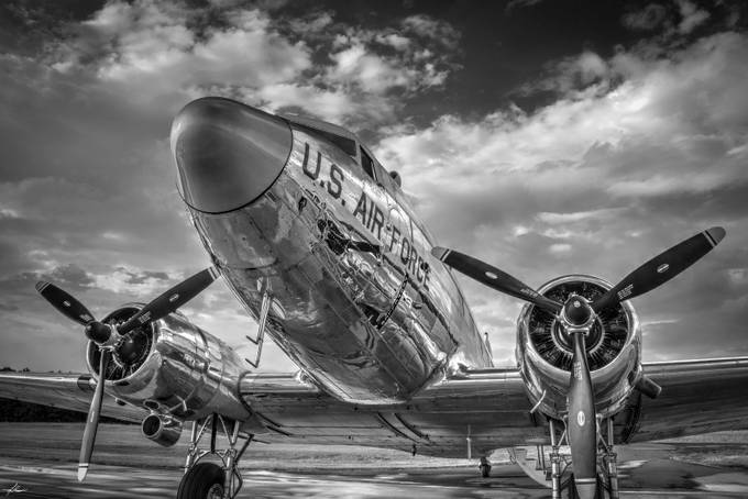Douglas DC-3 Skytrain by philipdrispin - Letters And Words Photo Contest